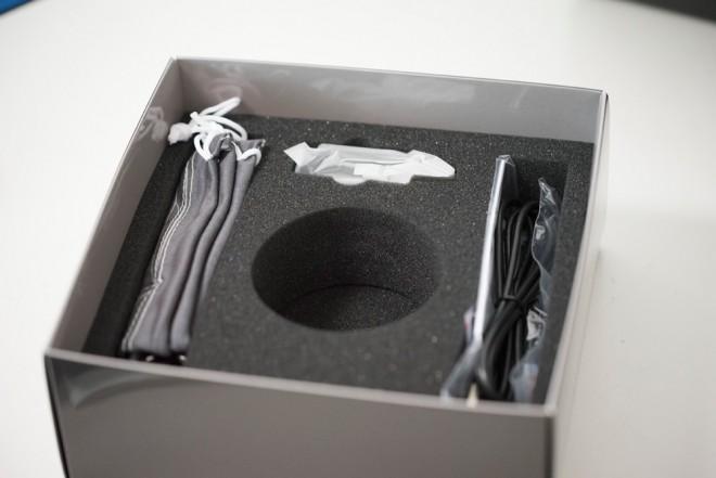Bublcamの箱の中の付属品