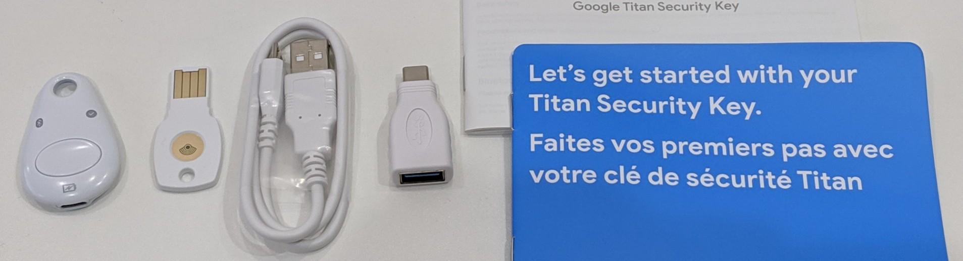 Titan セキュリティ キー